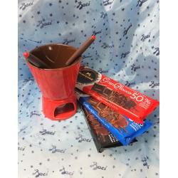 Set per fonduta di cioccolato